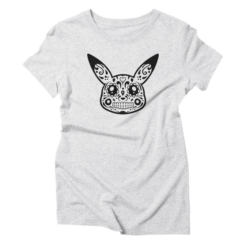 Pikatrina Women's Triblend T-Shirt by RojoSalgado's Artist Shop