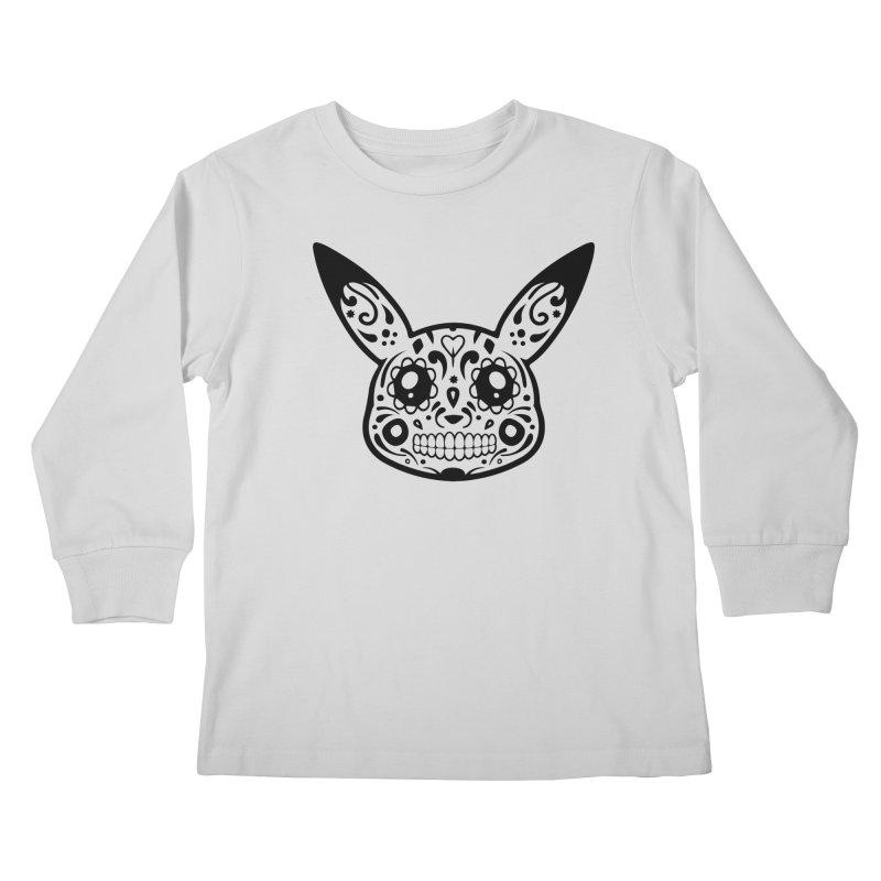 Pikatrina Kids Longsleeve T-Shirt by RojoSalgado's Artist Shop