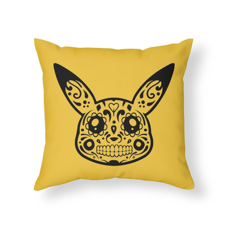 Pikatrina Home Throw Pillow by RojoSalgado's Artist Shop