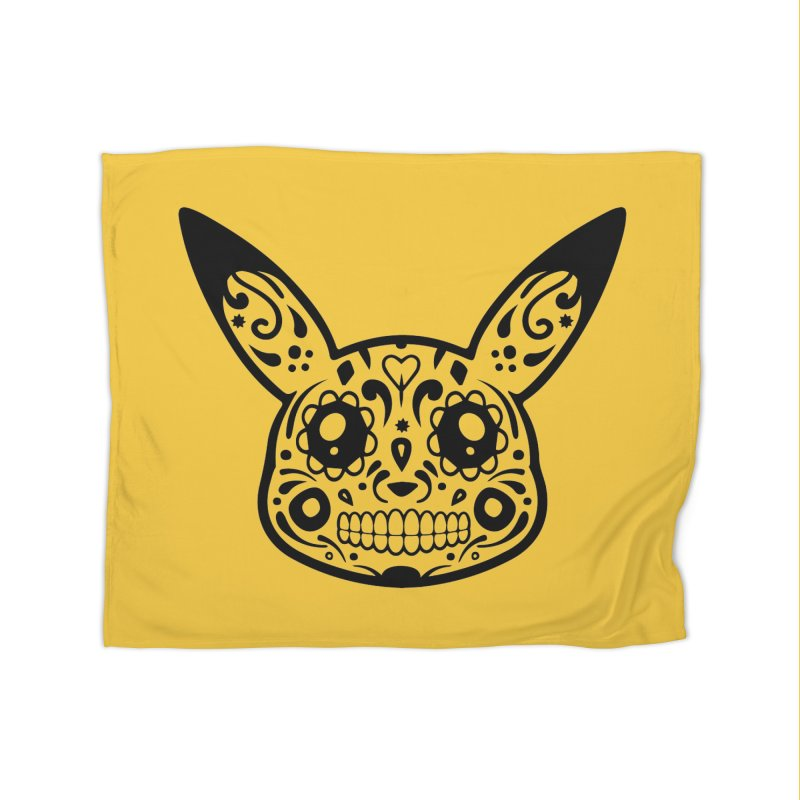 Pikatrina Home Blanket by RojoSalgado's Artist Shop