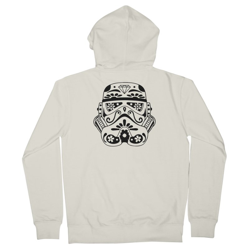 Trooper Women's Zip-Up Hoody by RojoSalgado's Artist Shop