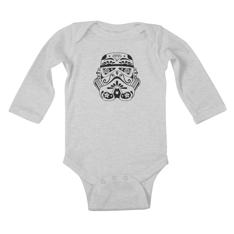 Trooper Kids Baby Longsleeve Bodysuit by RojoSalgado's Artist Shop
