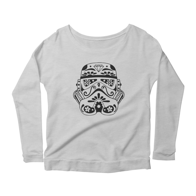 Trooper Women's Longsleeve Scoopneck  by RojoSalgado's Artist Shop