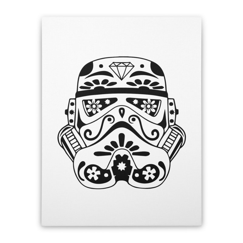 Trooper Home Stretched Canvas by RojoSalgado's Artist Shop