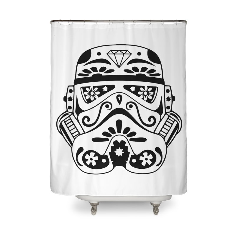 Trooper Home Shower Curtain by RojoSalgado's Artist Shop
