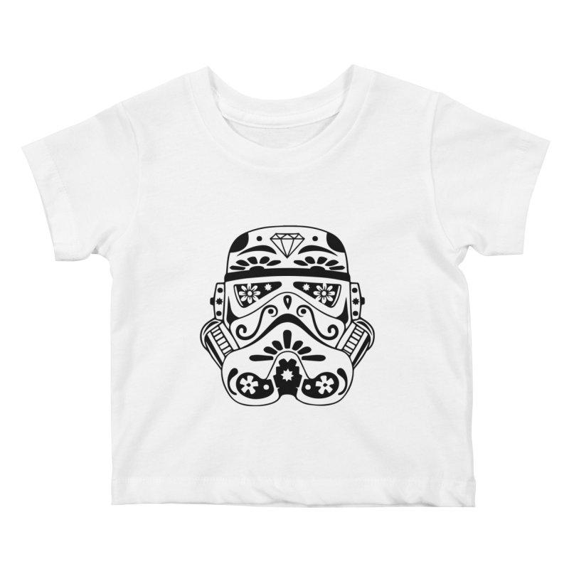 Trooper Kids Baby T-Shirt by RojoSalgado's Artist Shop