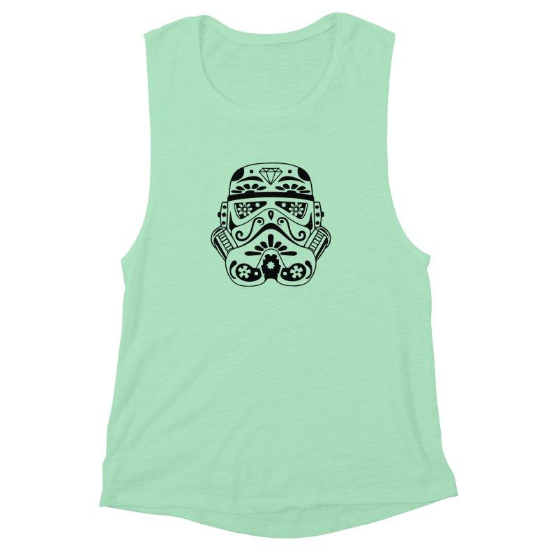 Trooper Women's Muscle Tank by RojoSalgado's Artist Shop