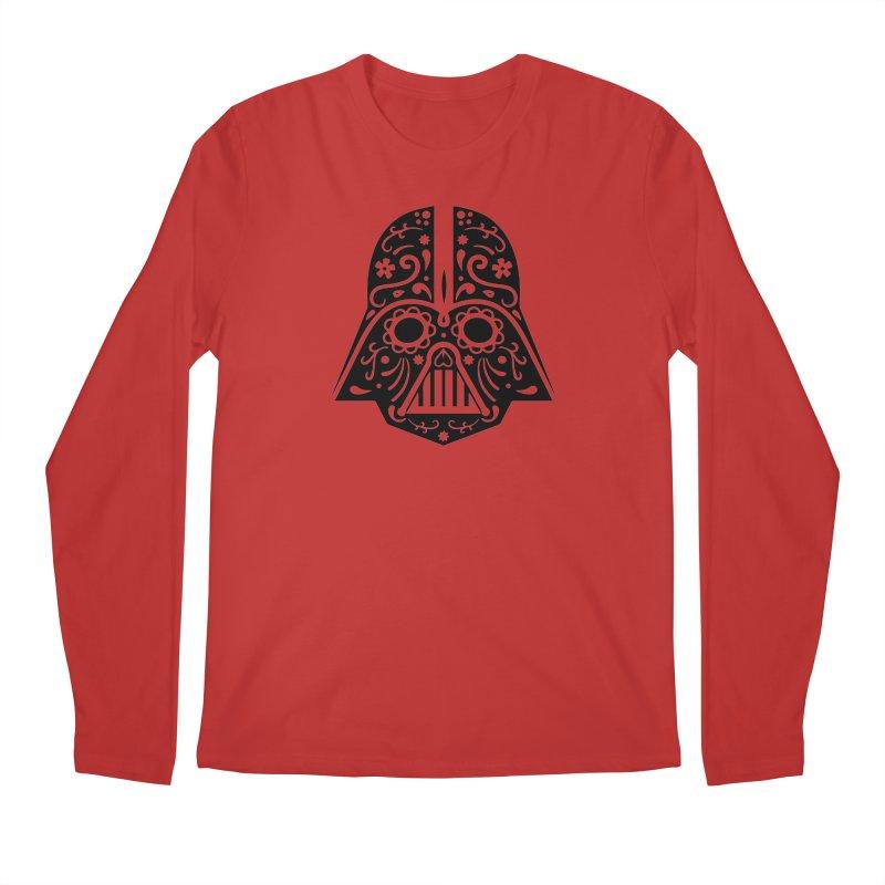 Catrina Vader Men's Longsleeve T-Shirt by RojoSalgado's Artist Shop