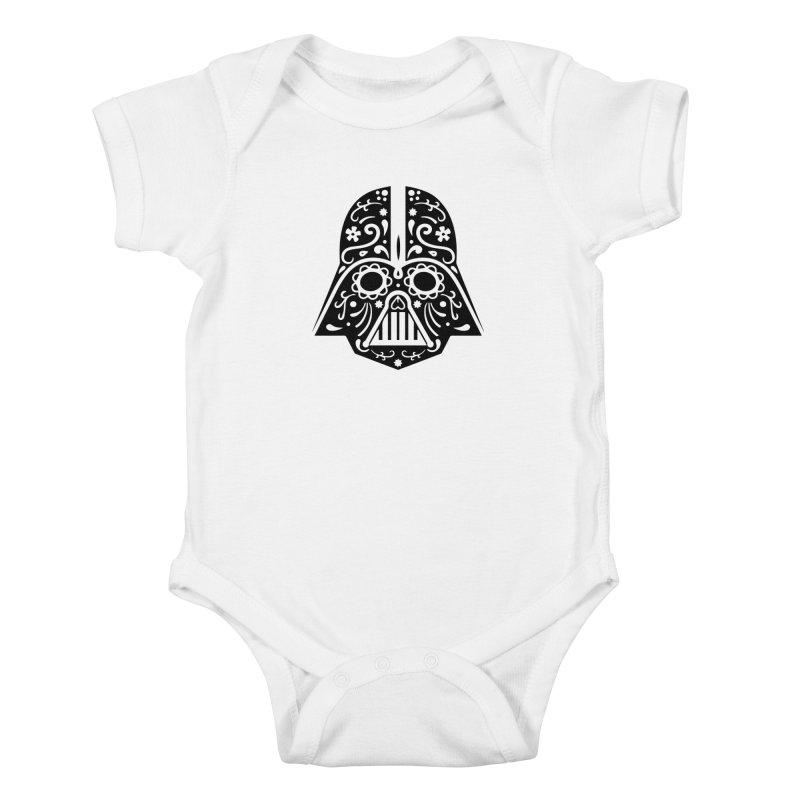 Catrina Vader Kids Baby Bodysuit by RojoSalgado's Artist Shop
