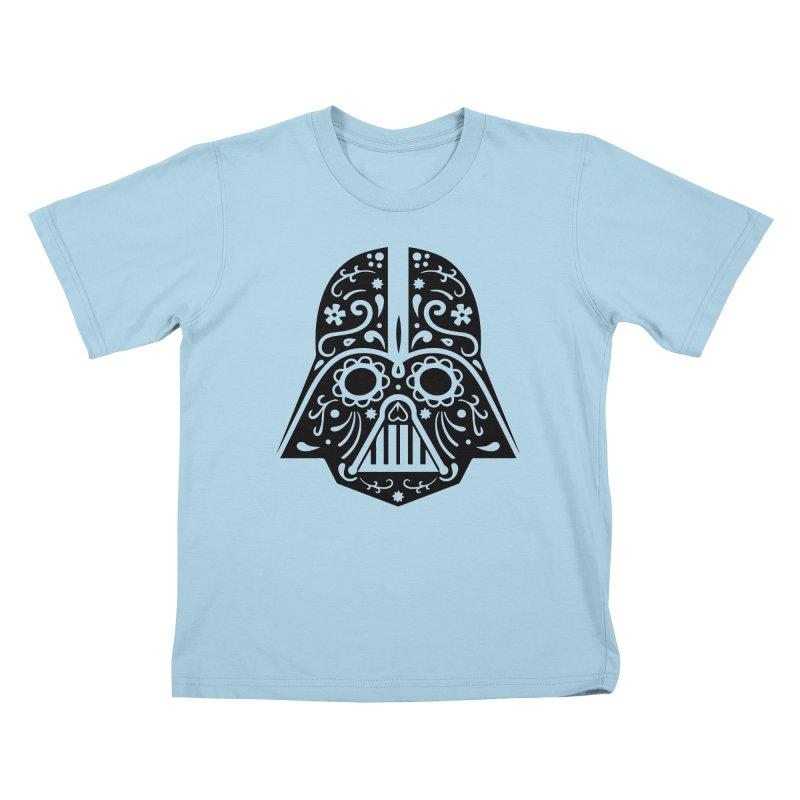 Catrina Vader Kids T-Shirt by RojoSalgado's Artist Shop