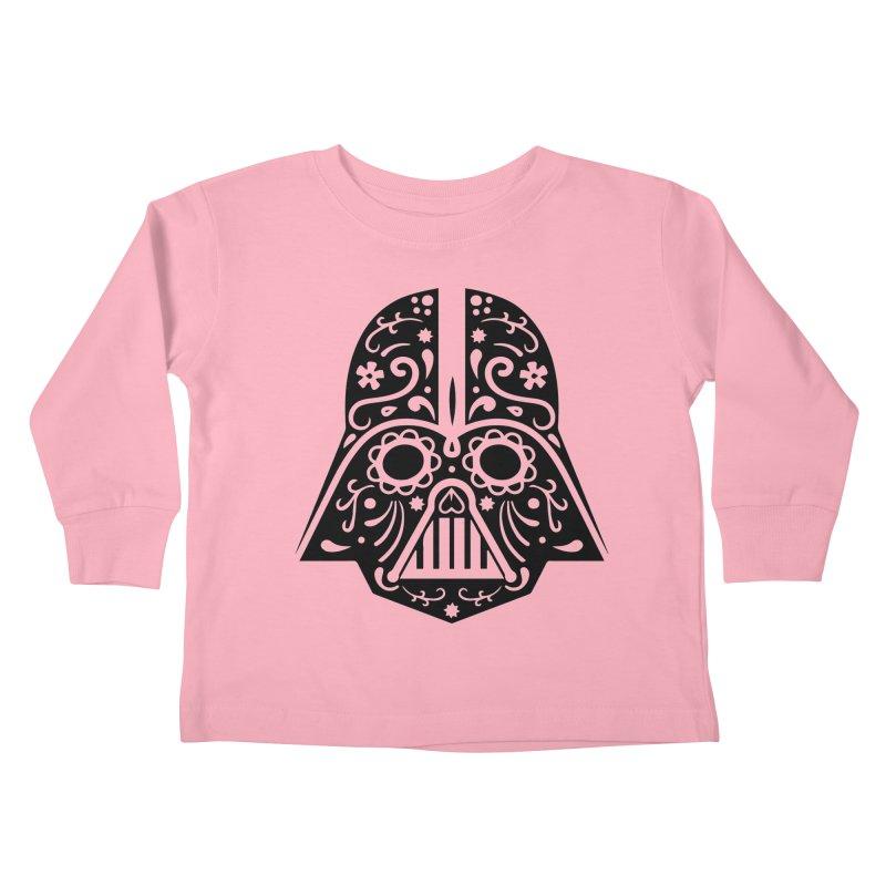 Catrina Vader Kids Toddler Longsleeve T-Shirt by RojoSalgado's Artist Shop