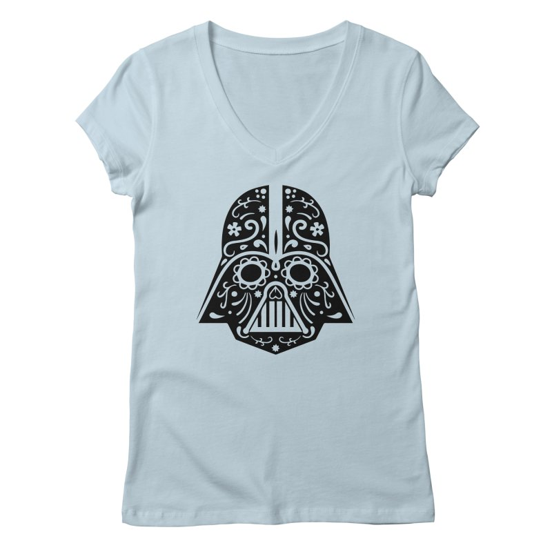 Catrina Vader Women's V-Neck by RojoSalgado's Artist Shop