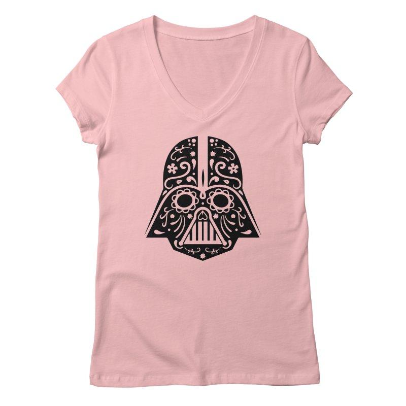 Catrina Vader Women's V-Neck by RojoSalgado's Artist Shop