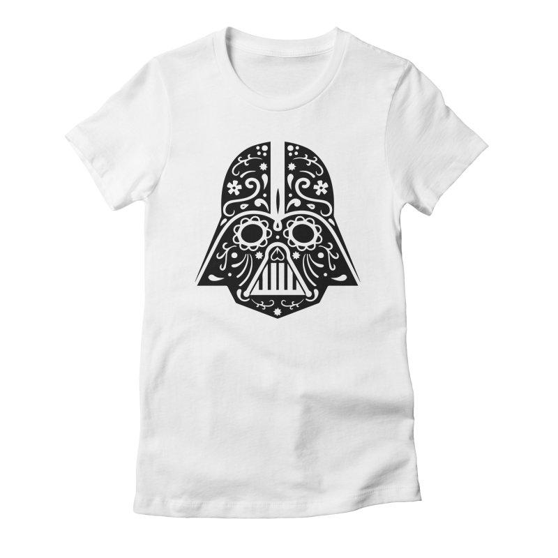 Catrina Vader Women's Fitted T-Shirt by RojoSalgado's Artist Shop