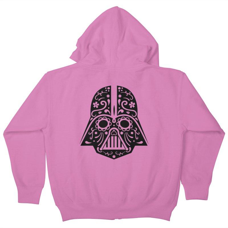 Catrina Vader Kids Zip-Up Hoody by RojoSalgado's Artist Shop