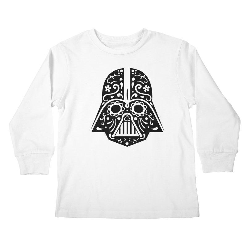 Catrina Vader Kids Longsleeve T-Shirt by RojoSalgado's Artist Shop