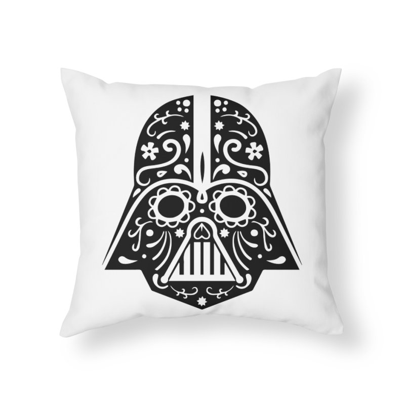 Catrina Vader Home Throw Pillow by RojoSalgado's Artist Shop
