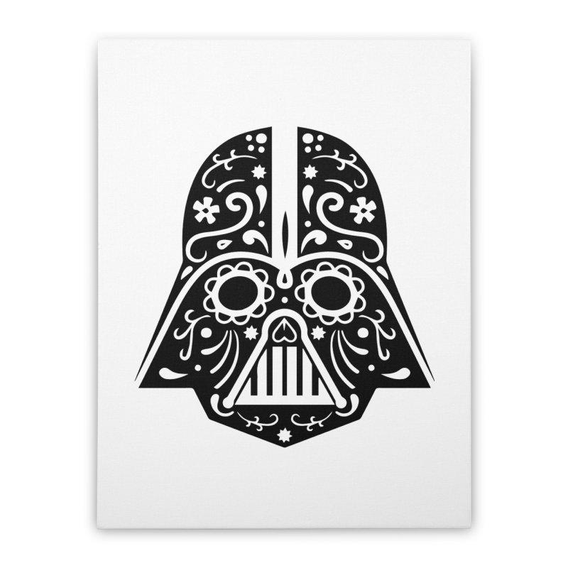 Catrina Vader Home Stretched Canvas by RojoSalgado's Artist Shop