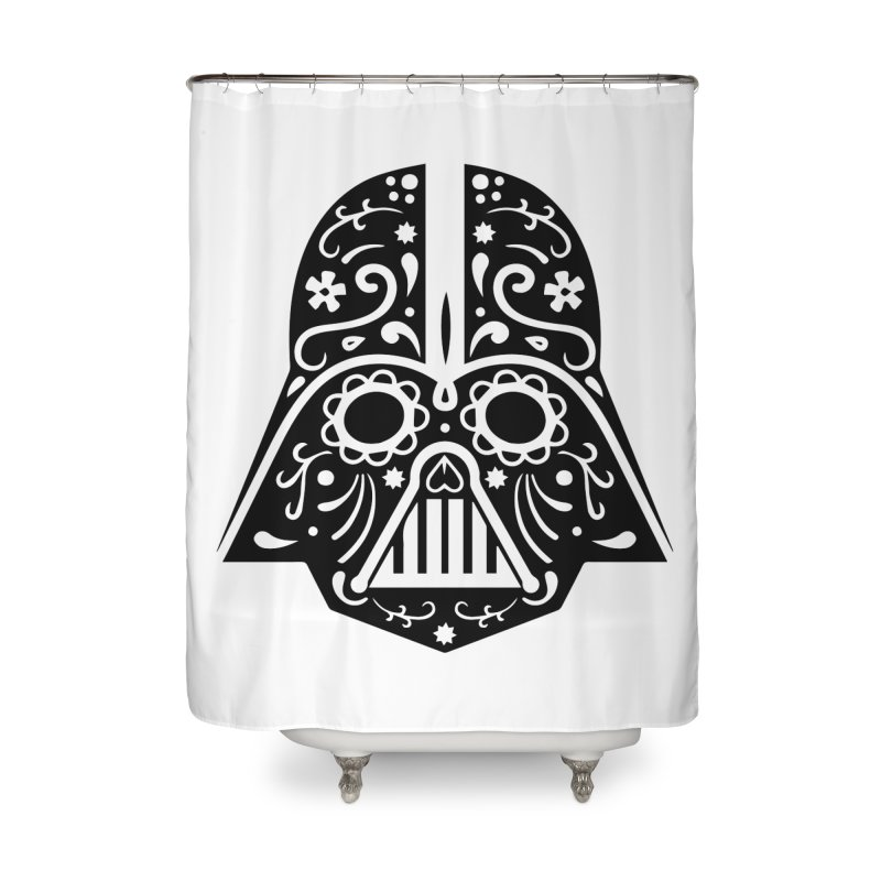 Catrina Vader Home Shower Curtain by RojoSalgado's Artist Shop