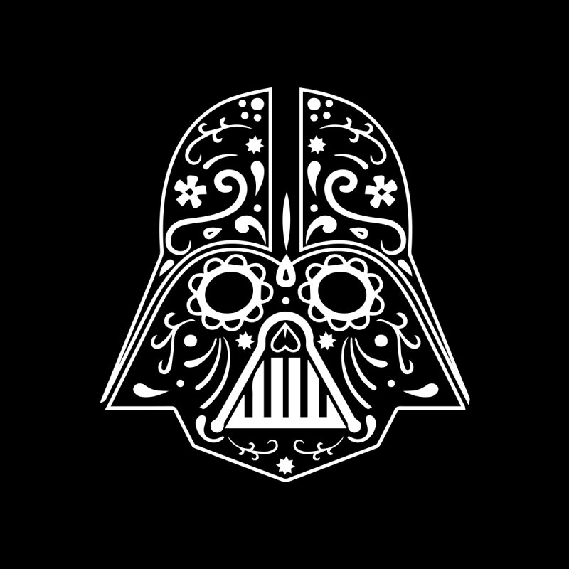 Catrina Vader White None  by RojoSalgado's Artist Shop