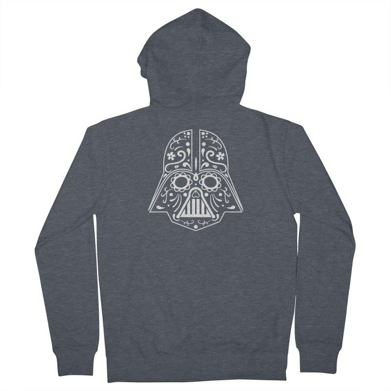 Catrina Vader White Men's Zip-Up Hoody by RojoSalgado's Artist Shop