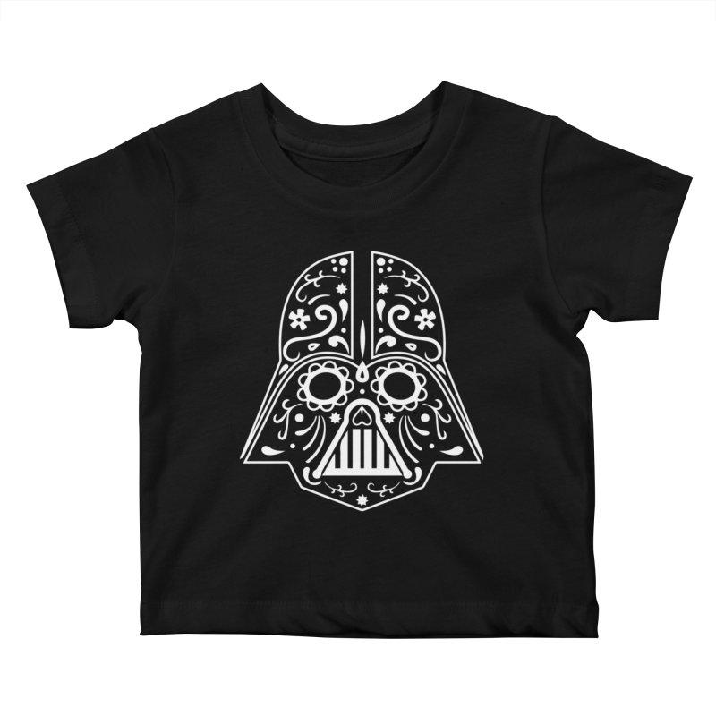 Catrina Vader White Kids Baby T-Shirt by RojoSalgado's Artist Shop
