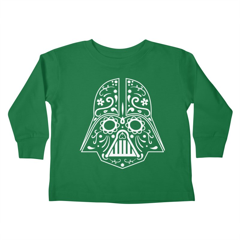 Catrina Vader White Kids Toddler Longsleeve T-Shirt by RojoSalgado's Artist Shop