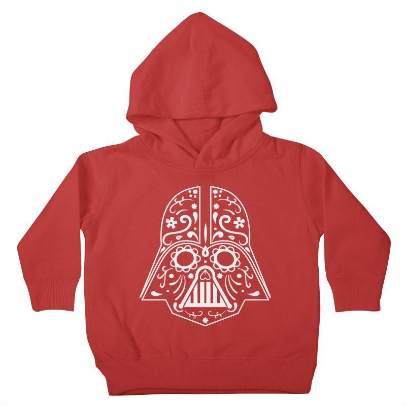 Catrina Vader White Kids Toddler Pullover Hoody by RojoSalgado's Artist Shop