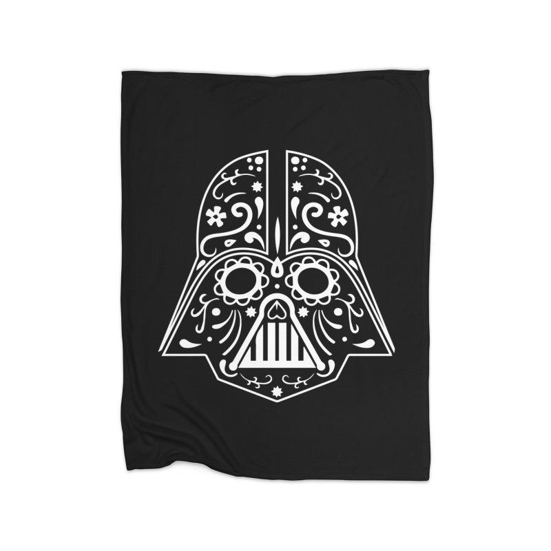 Catrina Vader White Home Blanket by RojoSalgado's Artist Shop
