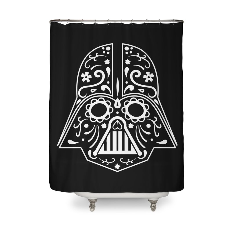 Catrina Vader White Home Shower Curtain by RojoSalgado's Artist Shop