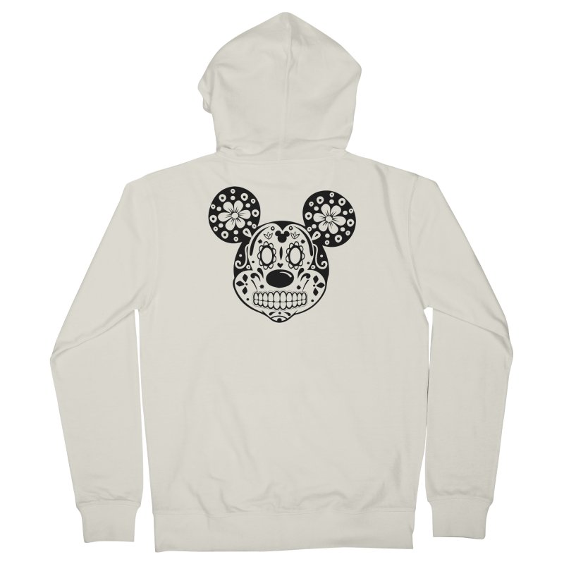 Mikatrina Mouse Men's Zip-Up Hoody by RojoSalgado's Artist Shop