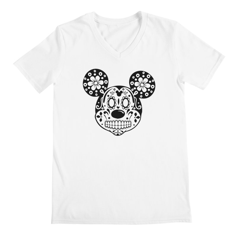 Mikatrina Mouse Men's V-Neck by RojoSalgado's Artist Shop