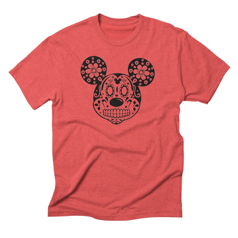 Mikatrina Mouse Men's Triblend T-shirt by RojoSalgado's Artist Shop