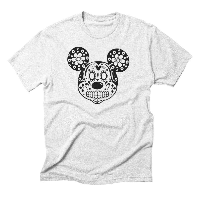 Mikatrina Mouse Men's Triblend T-shirt by RojoSalgado's Artist Shop
