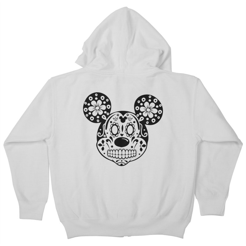 Mikatrina Mouse Kids Zip-Up Hoody by RojoSalgado's Artist Shop