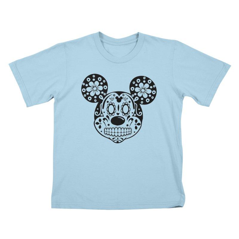 Mikatrina Mouse Kids T-shirt by RojoSalgado's Artist Shop