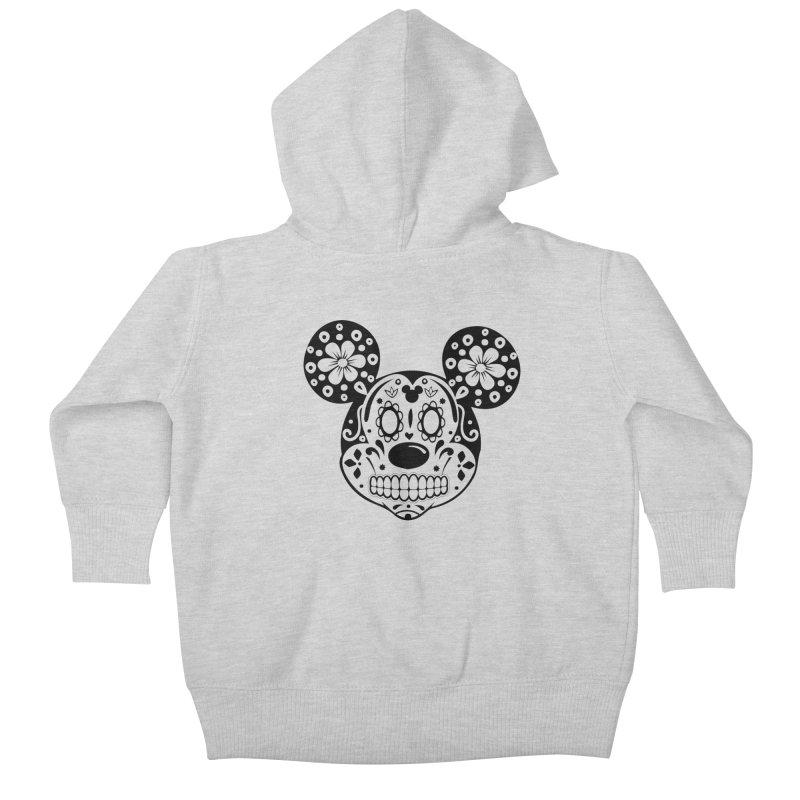 Mikatrina Mouse Kids Baby Zip-Up Hoody by RojoSalgado's Artist Shop