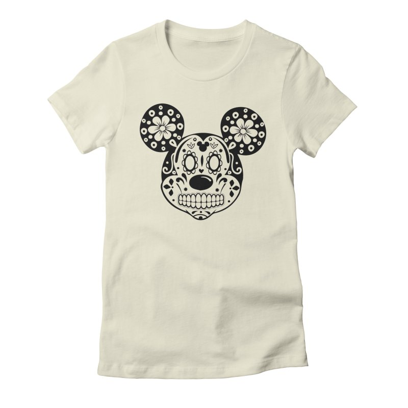 Mikatrina Mouse Women's Fitted T-Shirt by RojoSalgado's Artist Shop