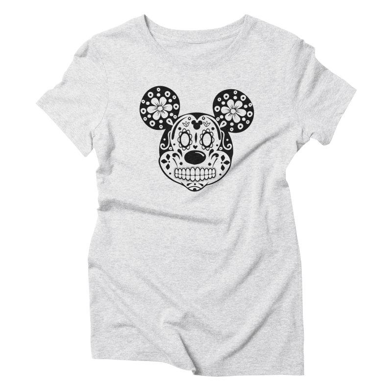 Mikatrina Mouse Women's Triblend T-shirt by RojoSalgado's Artist Shop