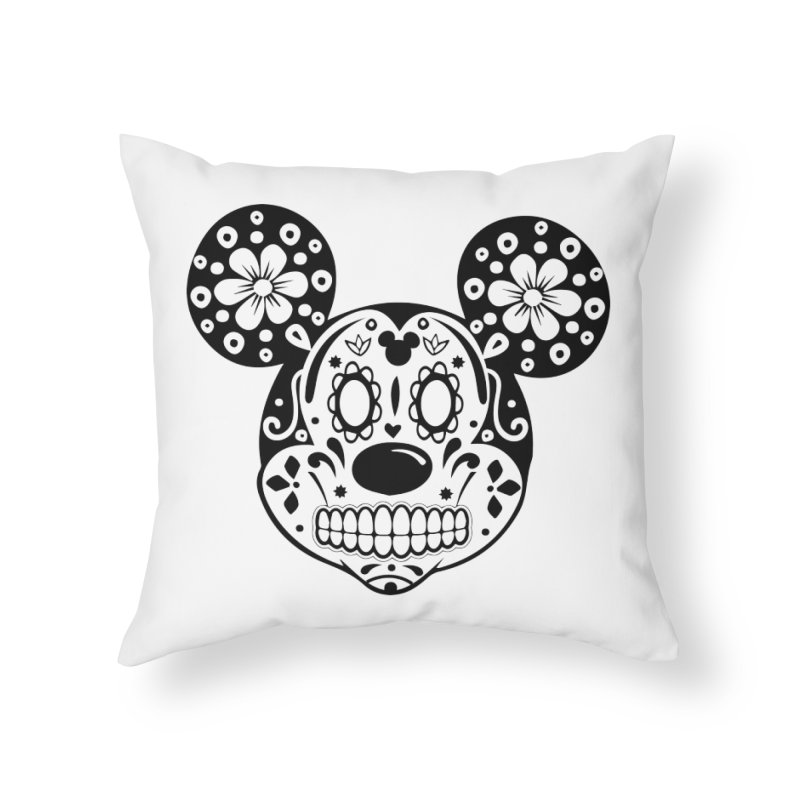 Mikatrina Mouse Home Throw Pillow by RojoSalgado's Artist Shop