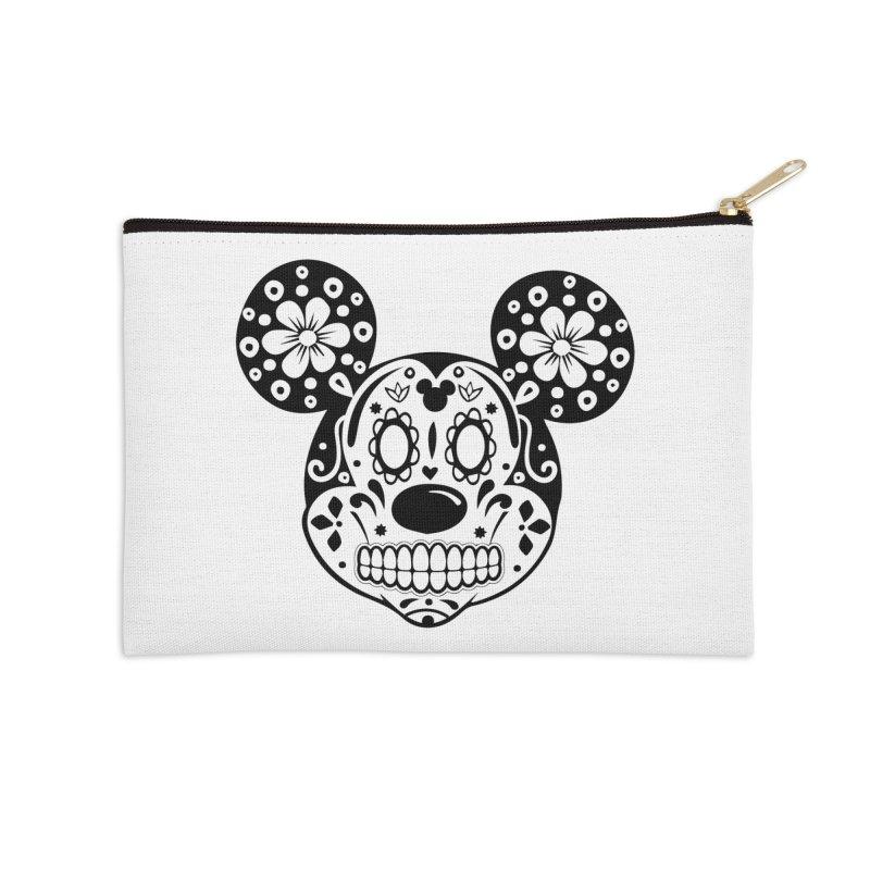 Mikatrina Mouse Accessories Zip Pouch by RojoSalgado's Artist Shop