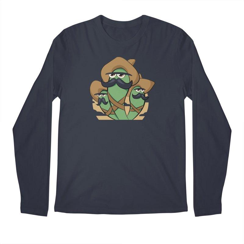 Chiles Revolucionarios Men's Longsleeve T-Shirt by RojoSalgado's Artist Shop
