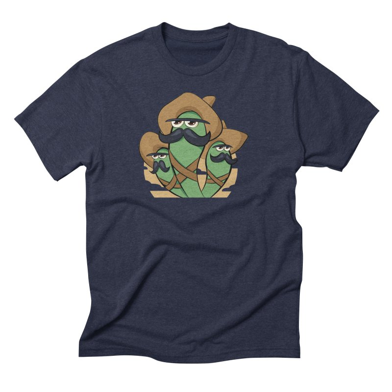 Chiles Revolucionarios Men's Triblend T-Shirt by RojoSalgado's Artist Shop