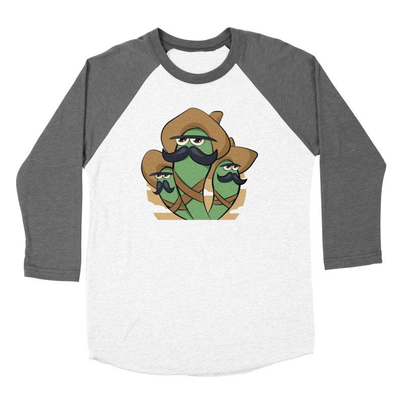 Chiles Revolucionarios Men's Baseball Triblend T-Shirt by RojoSalgado's Artist Shop