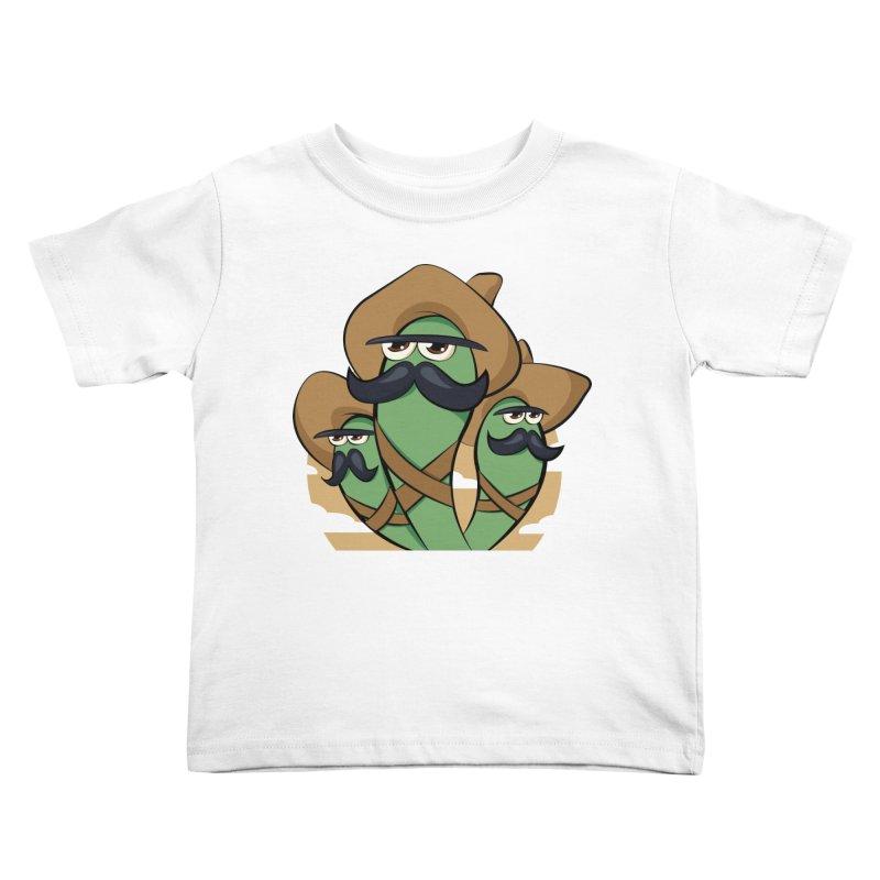 Chiles Revolucionarios Kids Toddler T-Shirt by RojoSalgado's Artist Shop