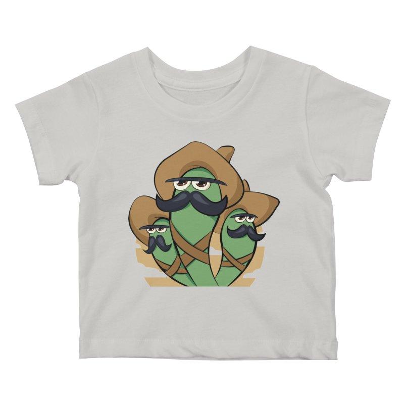 Chiles Revolucionarios Kids Baby T-Shirt by RojoSalgado's Artist Shop