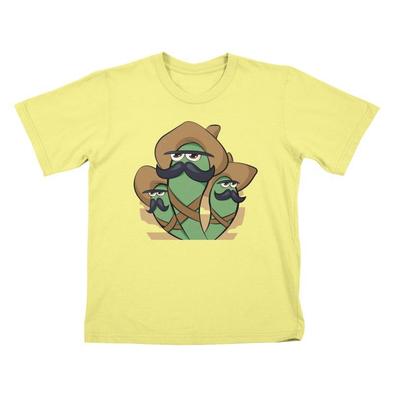 Chiles Revolucionarios Kids T-shirt by RojoSalgado's Artist Shop