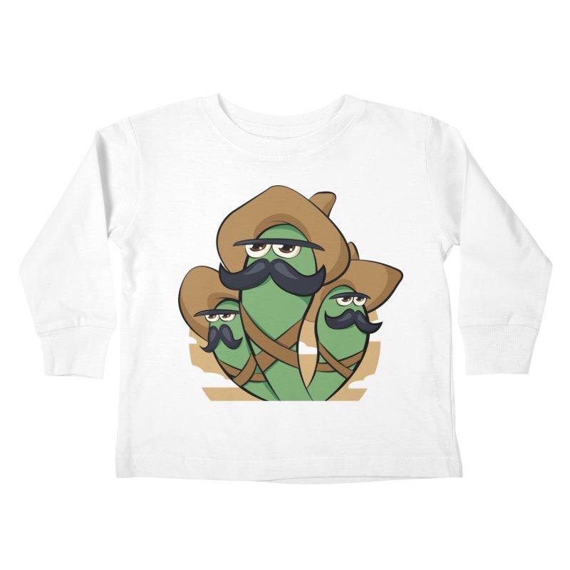 Chiles Revolucionarios Kids Toddler Longsleeve T-Shirt by RojoSalgado's Artist Shop
