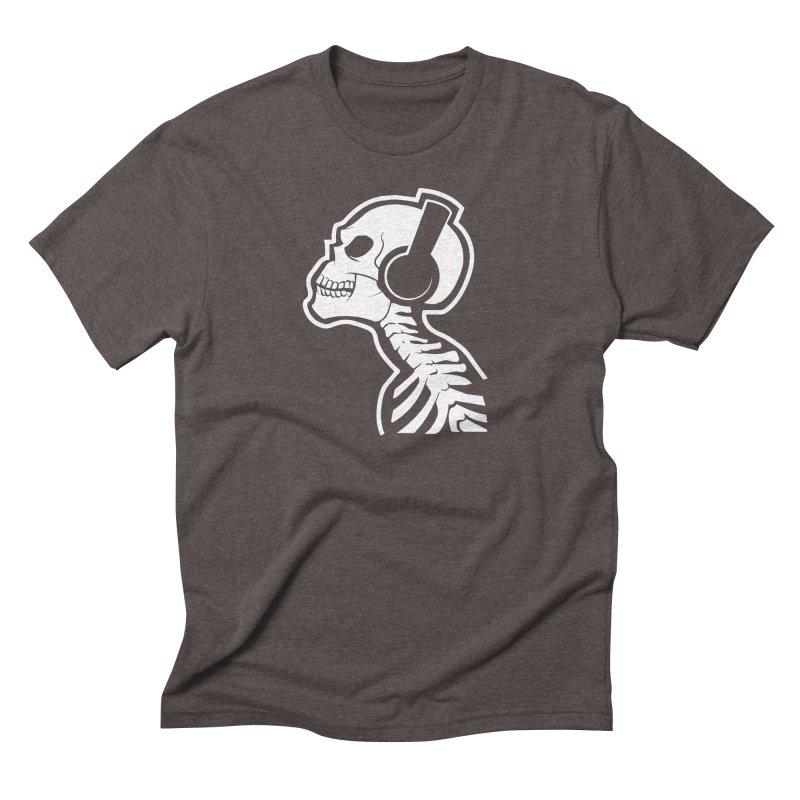 Music To The Bones Men's Triblend T-shirt by RojoSalgado's Artist Shop