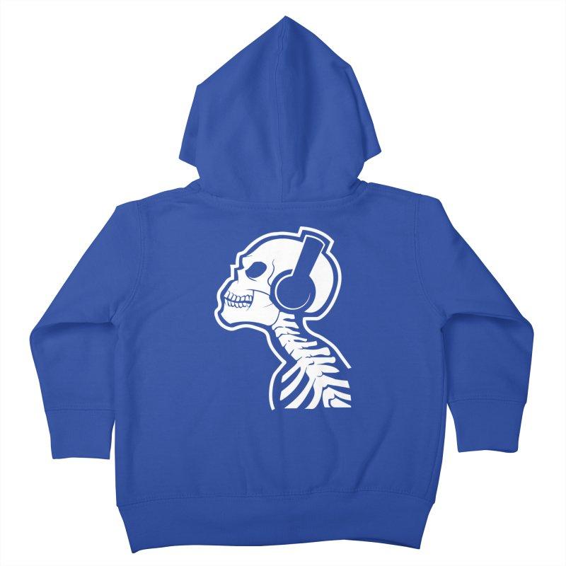 Music To The Bones Kids Toddler Zip-Up Hoody by RojoSalgado's Artist Shop